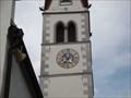 Image for Uhr Pfarrkirche Mariä Himmelfahrt, Pfaffenhofen, Tirol, Austria