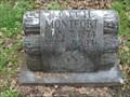 Image for Matt H. Montfort - Old Chatfield Cemetery - Chatfield, TX