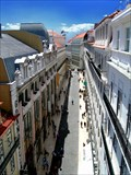 "Image for ""Rua do Carmo"", by UHF. Lisbon, Portugal"