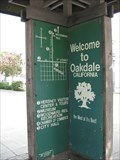 """Image for Downtown Oakdale """"You are here"""" - Oakdale, CA"""