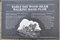 Image for Early Day Wood Beam Walking Hand Plow