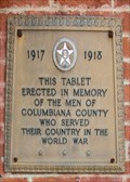 Image for VFW Post 4111 Memorial Plaque  -  Lisbon, OH