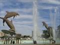 Image for Dolphin Fountain - Sarasota, Florida, USA.