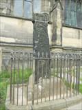 Image for All Saints Churchyard Cross #2 - Bakewell, Derbyshire, England