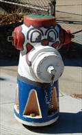 Image for Clown hydrant, Brisbane, CA