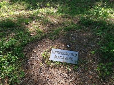 Underground Magazine Marker Stone, Knoxville, Tennessee