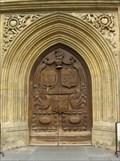 Image for Bath Abbey West Doors - Bath, England, UK