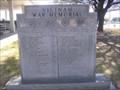 Image for Vietnam War Memorial, Courthouse Grounds, Odessa, TX, USA