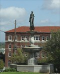 Image for Figure of Hebe -- Bloom Fountain, Vicksburg MS