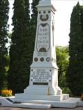 Image for Bruce Park Cenotaph - Winnipeg, MB