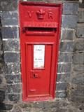 Image for Post Box, Bridge End, Lake Vyrnwy, Llanwddyn, Powys, Wales, UK
