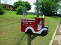 Image for Antique Fire Engine Mailbox-Cherokee County, Georgia