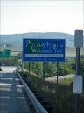 Image for New York / Pennsylvania Border on US 15