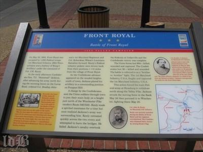 FRONT ROYAL ☆ ☆ ☆ Battle of Front Royal