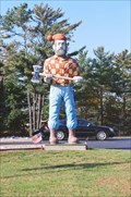 Image for Paul Bunyan Statue - Manistique, Michigan