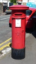 Image for Victorian Pillar Box - Ty'n-Y-Coed Place, Cardiff, Wales, UK