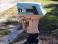 Image for Boat Engine Mailbox - Oak Hill, FL