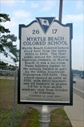 Image for 26-17 Myrtle Beach Colored School