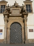 Image for Main entrance of Basilica Minor Svatý Kopecek (Svatý Kopecek, Czech Republic)
