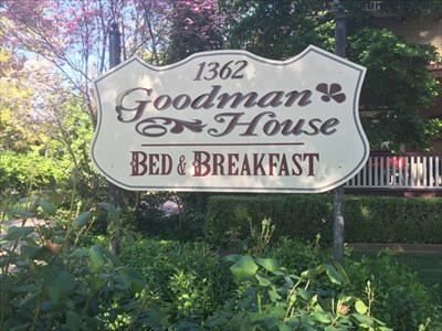 Goodman House Sign, Chico, California