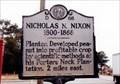 Image for Nicholas N. Nixon 1800-1868-D 68