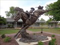 Image for Bucking Bronco - Equestrian Statues - Route 66, Elk City, Oklahoma, USA.