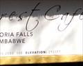 Image for Victoria Falls Rainforest Cafe - Elevation 2931