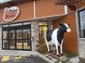 Image for La vache de la Fromagerie Mirabel. St-Jérôme. Québec