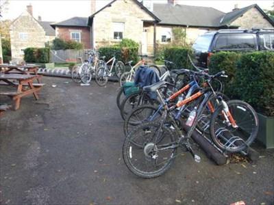 Horse and Jockey bike racks