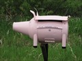 Image for Pig Mailbox - Looma, Alberta