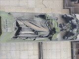 Image for Monarchs – King Henry III of England on side of city hall - Bradford, UK