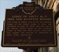 Image for Lodge of Amity No. 5 Free and Accepted Masons (#6-60)
