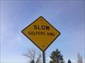 Image for Slow Golfers Crossing - West Bountiful, Utah