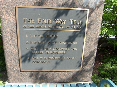 4-Way Test - Dixie Hwy - Sault Ste Marie - Michigan.