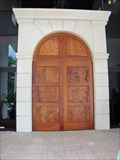 Image for Mission San Luis Visitor Center Doorway - Tallahassee, FL