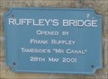 Image for Ruffley's Bridge OnThe Huddersfield Narrow Canal – Stalybridge, Tameside, UK
