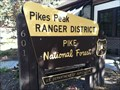 Image for Pike National Forest: Pikes Peak Ranger District - Colorado Springs, CO