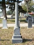 Image for Henry J. Neligan - San Lorenzo Cemetery - St. Augustine, FL