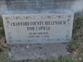 Image for Crawford County Millennium Time Capsule - Van Buren, AR
