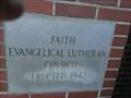 Image for 1942 - Faith Evangelical Lutheran Church - Batesburg SC