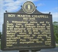 Image for Roy Martis Chappell - 2201 - Williamsburg, KY