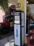 Image for Zeb's General Store Vintage Gasoline Pump  -  North Conway, NH