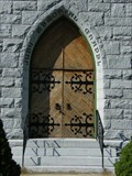 Image for Doorway of the Judy Memorial Chapel - Washington Court House, Ohio