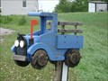 Image for Blue Truck Mailbox - Rock Mills, Ontario, Canada