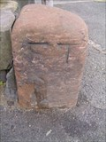 Image for A boundary stone, Chester, Cheshire.
