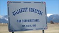 Image for Hillcrest Cemetery - Deer Lodge, Montana
