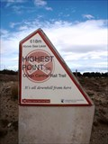 Image for HIGHEST — Point on the Otago Central Rail Trail — Idaburn, New Zealand