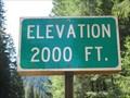 Image for Highway 126 - McKenzie Bridge, OR - 2000'