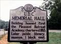 Image for U.D.C. Memorial Hall-O 41