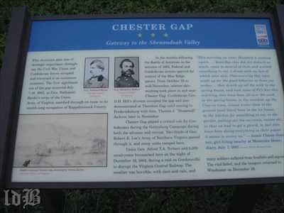 CHESTER GAP ☆ ☆ ☆ Gateway to the Shenandoah Valley